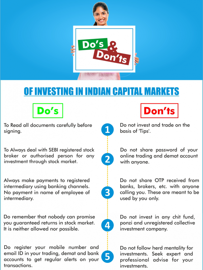 Do's and Don'ts of Investing in Capital Market